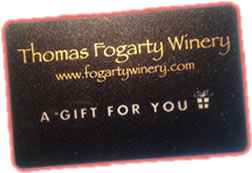 thomas fogarty winery gift cards